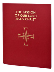 The Passion of Our Lord Jesus Christ contains the Shorter and Longer Forms of the Passion for each of the three Cycles A, B, and C (Matthew, Mark, and Luke) for Passion Sunday and the Passion according to St. John for Good Friday, complete in one volume. Includes a handy calendar listing the cycle to be used for each Passion Sunday for the next several years. The Passion of Our Lord is arranged for recitation by several ministers. Printed in two colors in large, easy-to-read 16-pt. type and bound in durable gold-stamped red cloth, The Passion of Our Lord Jesus Christ is a practical and pastoral resource for Holy Week liturgies.