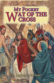 """With glorious full-color illustrations, this pocket or purse-size book offers those who wish to pray the Stations a handy companion for this popular devotion on the Sacred Passion of Our Lord.64 Pages ~ 2 1/2"""" X 3 3/4"""""""