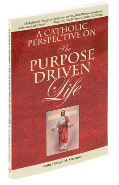 """In A Catholic Perspective on the Purpose Driven Life, popular author Fr. Joseph M. Champlin offers opportunities for guided reflection, sharing, and prayer that reinforce many of Pastor Rick Warren's points with additional commentaries on areas in which Catholic teaching varies. A Catholic Perspective on the Purpose Driven Life is a companion guide that follows Warren's forty-day process. 5 1/2"""" x 8 1/4"""" ~ 112 pages"""