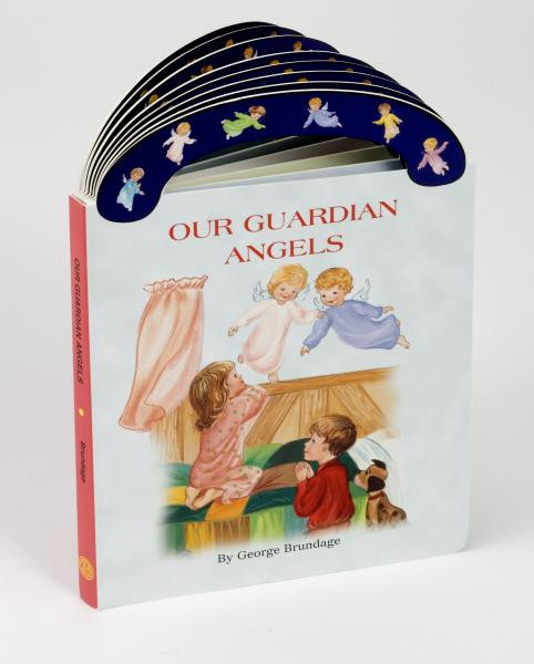"Ideal book for young children. A sturdy book that will stand up to wear and tear,it provides clear, simple text to introduce children to Guardian Angels and the part they play in our lives. With full-color illustrations and a ""carry-along"" handle.  6"" x 8 1/2"" ~ 16 pages"
