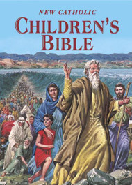 "Over 90 Bible stories for children, richly illustrated in full color. From the story of creation to the naming of Peter as Pope, this volume will educate and delight children. 224 pages ~ 6 1/2"" x 9 1/2"" ~ Hardcover"