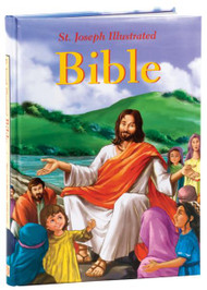 "With over 60 newly written stories from the Old and New Testaments, this brilliantly colorful, vividly illustrated volume will captivate children and capture their attention. Its inviting storytelling style will attract youngsters and encourage them to turn to its pages over and over again. 124 pages ~ 7"" x 10"" ~ Padded Hardcover"