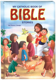 "Filled with sweet, eye-catching illustrations, this chunky book of first Bible stories will delight little children. 24 pages ~ 6"" x 9"" ~ Padded Hardcover"
