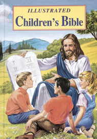 "New Bible stories for children illustrated in full color.  An ideal introduction to the magnificent stories of the Bible.  Large type ~ 176 pages ~ 7 1/4"" x 10 1/4"" ~ Hardcover"