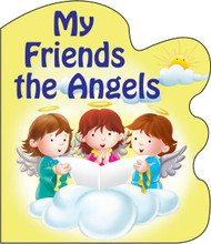 "My Friends the Angels is one of four in the series of St. Joseph Sparkle Books. This series of board books adds a bit of wonder to a child's day with a combination of foil-stamping and sparkle on the cover and expressive, colorful illustrations throughout. My Friends the Angels helps children to be aware of God's love for them through the angels who help them throughout the day. Perfect as a gift for God's littlest Catholics! CPSIA compliant. 14 pages ~ 5 1/2"" x 6 3/4"""