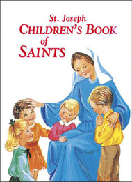 "St. Joseph Children's Book of Saints from Catholic Book Publishing tells the stories of the exemplary lives of nineteen great saints of God. This book of the lives of the saints is beautifully illustrated with full-color pictures of each saint. Its pocket size and sturdy hard-cover binding ensures that children will use and treasure St. Joseph Children's Book of Saints for many years. 64 pages ~ 5 1/2"" x 7 3/8"""