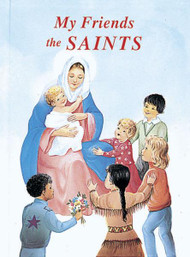 "My Friends the Saints by popular author Rev. Lawrence G. Lovasik, SVD contains inspiring prayers along with short biographical details of the Catholic Church's most popular Saints. My Friends the Saints is a beautifully illustrated, large-size book that children will love to read. Hardcover ~ 48 pages ~ 7 3/4"" x 10 1/2"""