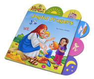 "Joyful Prayers by popular author Rev. Thomas J. Donaghy is a short board book to introduce young children to prayer. The tabs help children pick out elements in each of the spreads, making this book an interactive experience. Joyful Prayers contains bright, vibrant, and contemporary illustrations that will make this book an enjoyable learning experience for young Catholic children.Hardcover ~ 12 pages ~ 9 1/2"" x 9 1/2""."