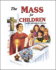 Beautifully illustrated hardcover book that helps children become acquainted with the Mass. Ideal for First Communion.