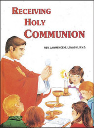 A wonderful, beautifully illustrated book for children that helps them learn about Holy communion. Ideal for First Holy Communion.
