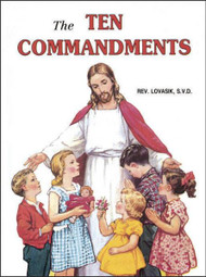 A wonderful, beautifully illustrated book for children that helps them learn about the Ten Commandments, the Laws of God. Ideal for First Holy Communion.