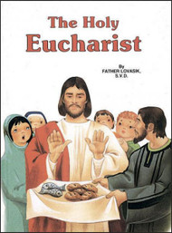A wonderful, beautifully illustrated book for children that helps them learn about the Eucharist. Ideal for First Holy Communion.