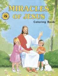 "A fun and creative way for children to learn about the miracles of Jesus. Adapted from The Miracles of Jesus. St. Joseph Picture Book by Rev. Lawrence G. Lovasik, S.V.D., and illustrated by Paul T. Bianca. 8 1/2"" x 11"" ~ 32 pages"