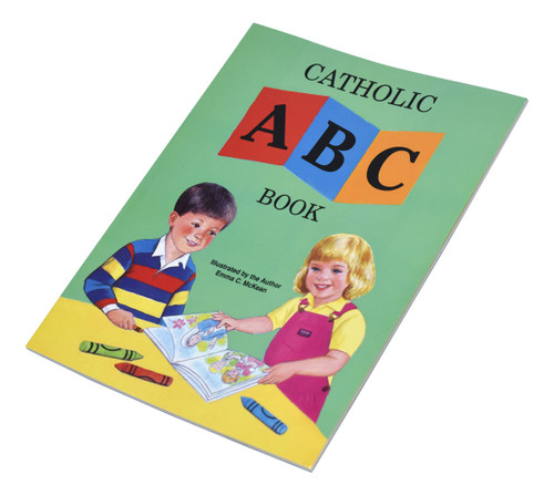 St Joseph Picture Books ~ A fully illustrated book that teaches children the alphabet in a Catholic context. Part of a magnificent series of religious books that will help all children better understand the Catholic faith. S5 1/2 X 7 3/8 ~ Paperback