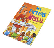 St Joseph Picture Books ~ A simple, beautifully illustrated introduction to the Mass for children. Part of a magnificent series of religious books that will help children better understand the Catholic faith. Simply written by Rev. Lawrence G. Lovasik, S.V.D.. 5 1/2 X 7 3/8 ~ Paperback 32 pages