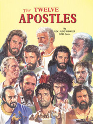 St Joseph Picture Books ~ The Apostles of Jesus come alive for children, in easy-to-understand language. Beautifully illustrated in full color. Part of a magnificent series of religious books that will help celebrate God's love for us and help all children better understand the Catholic faith. Simply written by Rev. Lawrence G. Lovasik, S.V.D.  5 1/2 X 7 3/8 ~ Paperback ~ 32 pages