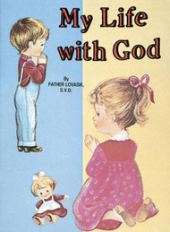 St Joseph Picture Books ~ Shows children how God is part of their lives, in easy-to-understand language. Beautifully illustrated in full color. Part of a magnificent series of religious books that will help celebrate God's love for us and help all children better understand the Catholic faith. Simply written by Rev. Lawrence G. Lovasik, S.V.D.  5 1/2 X 7 3/8 ~ Paperback ~ 32 pages