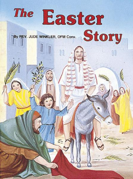 St Joseph Picture Books ~ The glory of Jesus' Resurrection in easy-to-understand terms. Illustrated in full color. Part of a magnificant series of religious books that will help all children better understand the Catholic faith. Simply written by Rev. Jude Winkler, O.F.M. CONV.  Illustrated in full color. Dimensions: 5 1/2 X 7 3/8 ~ Paperback