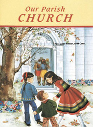 St Joseph Picture Books ~ Acquaints children with what they see in their own parish.  Full-color illustrations. Beautifully illustrated in full color. Part of a magnificent series of religious books that will help celebrate God's love for us and help all children better understand the Catholic faith. Simply written by REV. Jude Winkler, O.F.M. CONV.  5 1/2 X 7 3/8 ~ Paperback ~ 32 pages