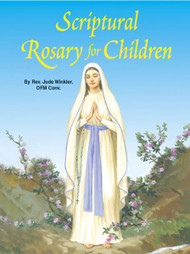St Joseph Picture Books ~ This new book uses Scripture to help children to reflect on the 20 Mysteries of the Rosary. is illustrated in full color. Part of a magnificent series of religious books that will help celebrate God's love for us and help all children better understand the Catholic faith. Simply written by Rev. Jude Winkler, CONV. 5 1/2 X 7 3/8 ~ Paperback ~ 32 pages
