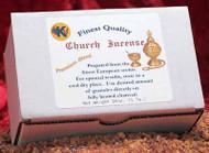 Premium blend church incense. 1 lb. (16 oz.) Gift boxed
