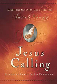 "After many years of writing her own words in her prayer journal, missionary Sarah Young decided to be more attentive to the Savior's voice and begin listening for what He was saying. So with pen in hand, she embarked on a journey that forever changed her—and many others around the world.  In these powerful pages are the words and Scriptures Jesus lovingly laid on her heart. Words of reassurance, comfort, and hope. Words that have made her increasingly aware of His presence and allowed her to enjoy His peace. Jesus is calling out to you in the same way. Maybe you share the author's need for a great sense of ""God with you"". Or perhaps Jesus seems distant without you knowing why. Or maybe you have wandered farther from Him that you ever imagined you would. Here is a year's worth of daily readings from Young's journals to bring you closer to Christ and move your time with Him from monologue to a dialogue. 382 pages ~ 4 1/4"" x 6'"
