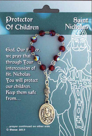 St. Nicholas/Protector of Children, One Decade Rosary