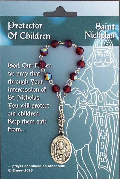 One Decade Rosary ~ St. Nicholas. Patron Saint of Children