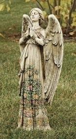 24inch Rose Praying Angel Garden Statue