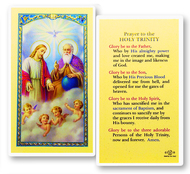 Prayer to the Holy Trinity Laminated Holy Card