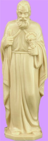 "4"" St. Jude Statue is carefully crafted and molded in vinyl with an exclusive process for years of lasting use. 4"" or 6"" Sizes available."