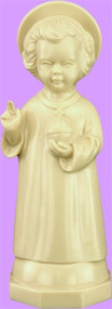 "5"" Little Christ Child Statue is carefully crafted and molded in vinyl with an exclusive process for years of lasting use. Available in white or tan color"