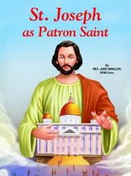 St Joseph the Patron Saint by Rev. Jude Winkler, OFM Conv 5 1/2 X 7 3/8