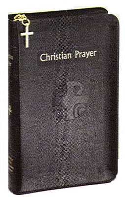 """This bonded leather edition with zipper comes with a current annual guide and gold stamping. Pages: 2080 and measures 4 3/8"""" x 6 3/4"""". Stitched with gold stamping. Christian Prayer is the official one-volume edition of the internationally acclaimed Liturgy of the Hours. This regular edition of Christian Prayer contains the complete texts of Morning and Evening Prayer for the entire year. With its readable 10-pt. type, ribbon markers for easy location of texts, and beautiful two-color printing, this handy little one-volume Christian Prayer simplifies praying the official Prayer of the Church, the Liturgy of the Hours, for today's busy Catholic."""