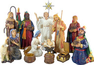 "14 piece 7"" Nativity Set"