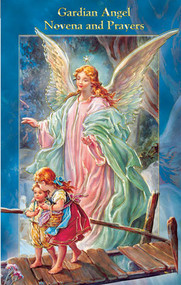 """Beautifully Illustrated Novena Book of Prayer and Devotion. Size 3-3/4""""x6"""". Novena Book has 24 pages of Fratelli-Bonella Artwork. Contains a beautifully written Novena, biography, litany and appropriate prayers"""