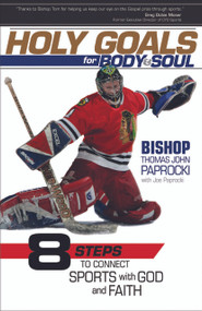 "Hockey-playing Catholic bishop Thomas J. Paprocki has a message for teens and young adults: athletics and fitness provide daily ways to connect with God. Bishop Paprocki weaves his unique personal story with eight athletic topics and connects them with a path to wholeness.  Holy Goals for Body and Soul: Eight Steps to Connect Sports with God and Faith links lessons from the world of sports and fitness—especially the experiences of a Catholic bishop who plays ice hockey—with concrete ways to live a holy life. In Bishop Paprocki's view, everyone is called to holiness, which can be encountered anywhere: ""I encounter holiness while training for a marathon. I encounter holiness during a workout at the health club."" He explores eight sports-related topics to help the reader navigate a life of holiness:  Fear Frustration Failure Fortitude Faith Friendship Family Fun"