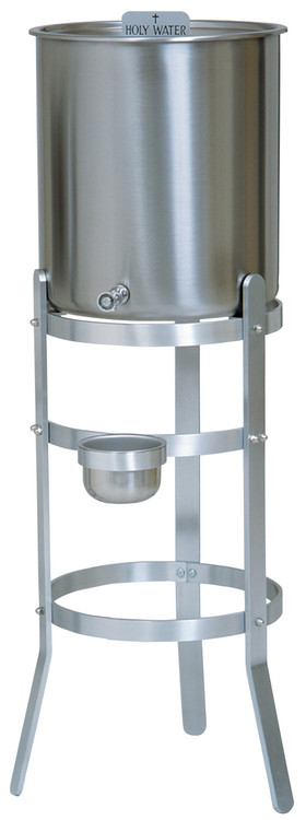 "Tank Cap.       Stand Leg Spread   5 gallon                     13""                      6 gallon                      13""                      10 gallon                   15""                      15 gallon                 20 7/8""              15 gallon             with handles           Stand is made of aluminum"