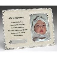 Godparent Mother of Pearl Frame
