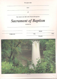 Sacrament of Baptism Certificates and Envelopes