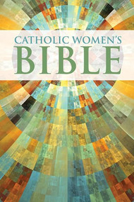 """But when the fullness of time had come, God sent his Son, born of a woman.- Galatians 4:4.  Women played a vital role in salvation history, as well as the history of the Catholic Church. Whatever our state in life, our vocation is special, unique, and necessary. We are natural-born community builders. We sacrifice self for the benefit of families, children, and friends. We possess what Blessed John Paul II called """"feminine genius."""" We are different. The Women's Bible, NABRE gives Catholic women the refreshing opportunity to delve into the trusted NABRE version of the Bible plus nourish our """"feminine genius"""" with 88 full-color inserts that feature lively stories and information of specific interest to women.  Through excellent story-telling and solid Catholic teaching you'll find inspiration and encouragement presented in a way that connects with us in the here and now. You'll learn from amazing Biblical women:  Gomer and the amazing gift of forgiveness; The Canaanite Woman and maintaining a sense of humor; Herodias and Salome and a mother's influence on her daughter; Sapphira and the importance of integrity; Mary Magdalene on facing judgment and criticism and much more!  Women's Bible, NABRE is perfect for both personal Scripture study as well as daily devotion. Questions for personal reflection can be used in women's group studies."""
