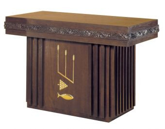 """Dimensions: 40"""" height, 60"""" width, 32"""" depth  Brass symbols available for additional charge"""