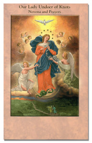 "3.75"" x 6"" Beautifully Illustrated Novena Book of Prayer & Devotion. Each Novena Book has 24 pages of Fratelli-Bonella Artwork"