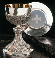 The Byzantine Chalice with Dish Paten