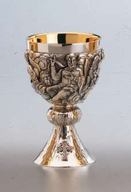 Chalice, The Evangelists with Bowl Paten