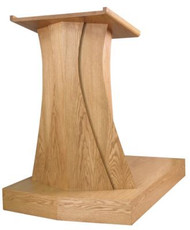 "Dimensions of the base for Pulpit 631 are: 6"" height, 38"" width, 54"" depth  For Pulpit See Item 631"