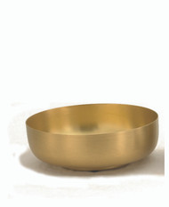 "Open Ciborium measures 6 1/8""W is 2 1/8""H. Bowl is available in Silver-Gold- Line or 24K gold plate. Bowl hold 300 host based on 1 1/8 host."