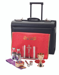 Luggage Style Mass Kit on wheels, R-2011G