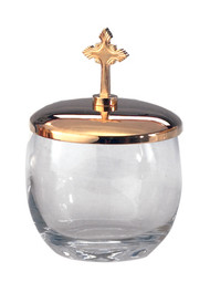 "Ablution Cup measurements Height: 5 1/2""H, hold 12 oz."