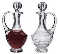 8 oz. Lead Crystal Cruet Set - 12